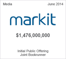 Markit $1.4 billion Initial Public Offering