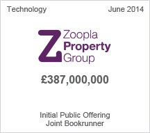 Zoopla £387 million Initial Public Offering
