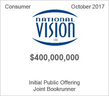 National Visin  $440 million - Initial Public Offering