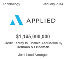 Applied $1.145 billion Credit Facility