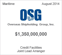 Overseas Shipholding Group, Inc. $1.3 billion Credit Facilities