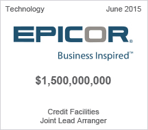 EPICOR $1.5 million Credit Facilities