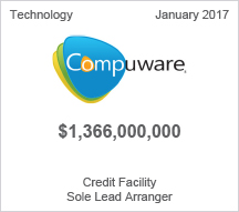 Compuware - $1.366 billion Credit Facility