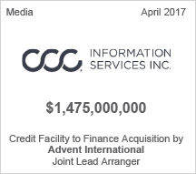 CCC Information Services - $1.475 billion Credit Facility