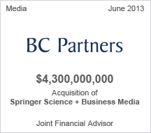 BC Partners $4.3 billion acquisition