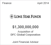 Lone Star Funds $1.3 billion Acquisition