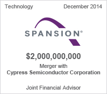 Spansion $2 billion merger