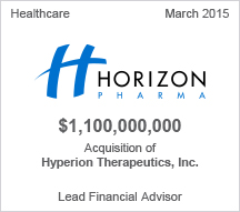 Horizon Pharma $1.1 billion acquisition