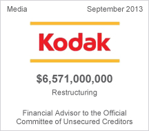 Kodak $6.5 billion restructuring