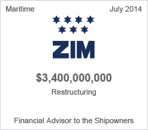 ZIM $3.4 billion restructuring