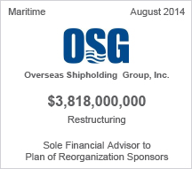 OSG $3.8 billion restructuring