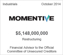 Momentive $5 billion restructuring