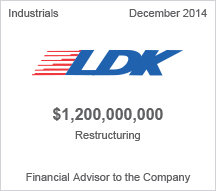 LDK $1.2 million restructuring