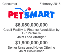 Petsmart $5 billion Credit Facility - $1.9 billion Senior Unsecured Notes Offering