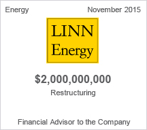 LINN Energy $2 billion restructuring