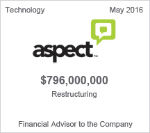 Aspect $796 million restructuring