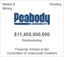 Peabody Energy $11 billion restructuring