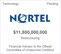 Nortel $11.8 billion restructuring