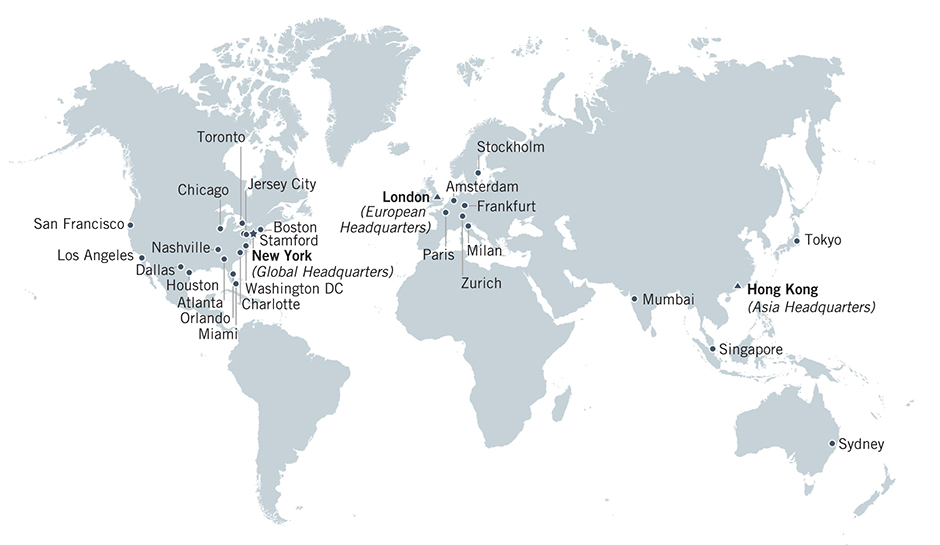 Jefferies Offices around the world